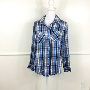 Lane Bryant Plaid Long Sleeve Flannel 16